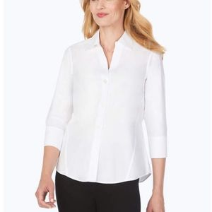 Foxcroft Non-Iron Wrinkle Free Button Down Shirt